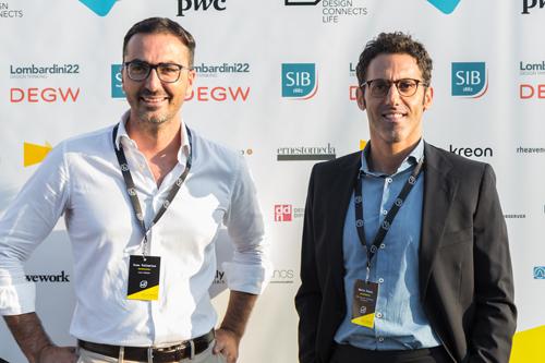 Ivan Tallarico of Hi-Hack, Mario Pozzi of SIB LEX