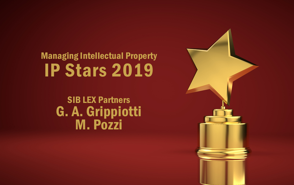 Mario Pozzi earns second IP Star 2019 for SIB LEX