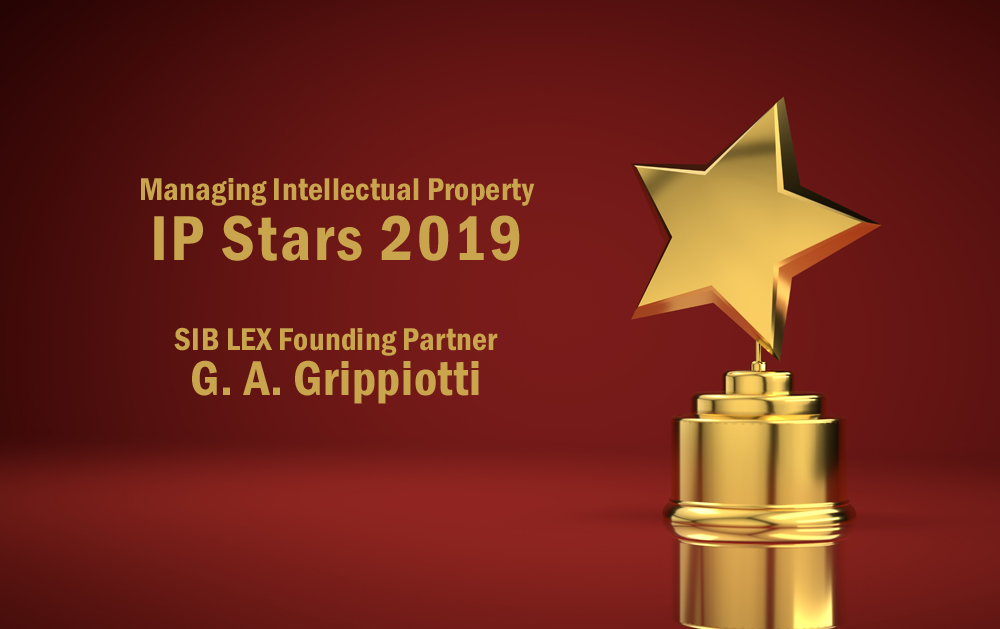 SIB LEX founding partner Grippiotti is trademark contentious IP Star 2019