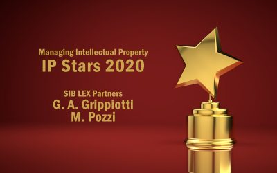 Two trademark litigation IP Stars 2020 for SIB LEX