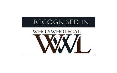 Giovanni Grippiotti segnalato da Who's Who Legal 2020 per la proprietà intellettuale