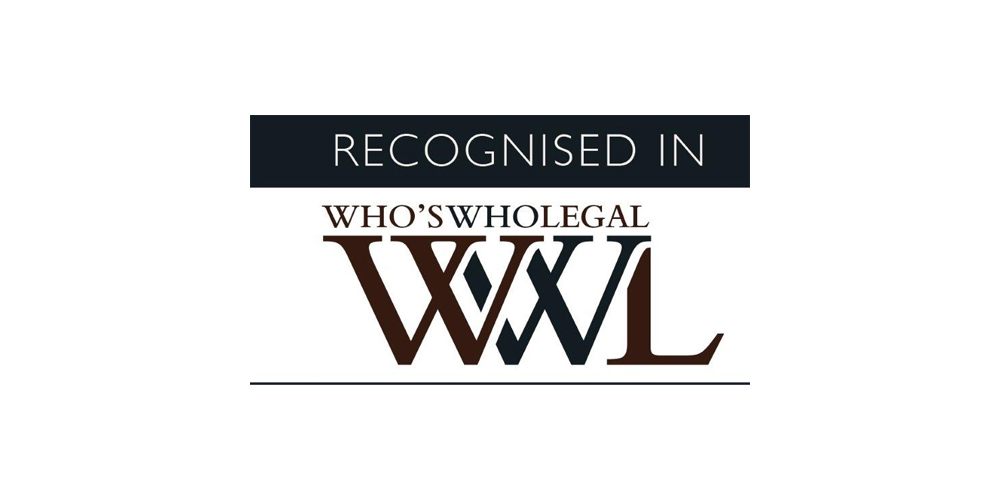 Giovanni Grippiotti recommended by Who's Who Legal Intellectual Property Italy 2020