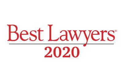G. A. Grippiotti incluso nella pubblicazione The Best Lawyers in Italy 2020