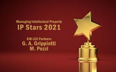 Due IP Stars 2021 nel contenzioso marchi per SIB LEX